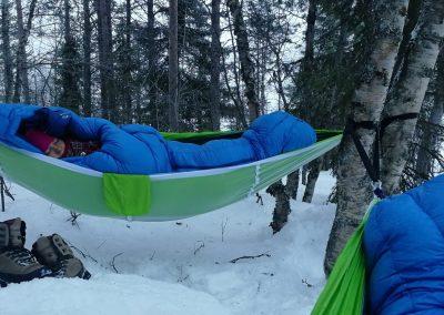 Activity hammock villa rauha lake jeris discover muonio by VillaRauha
