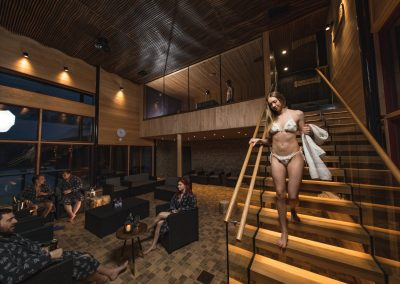 Arctic Sauna World saunat
