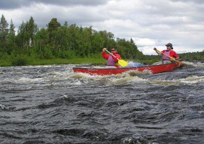 Felltrek canoeing