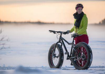 Harriniva Hotels Safaris Bicycles Fatbikes Winter