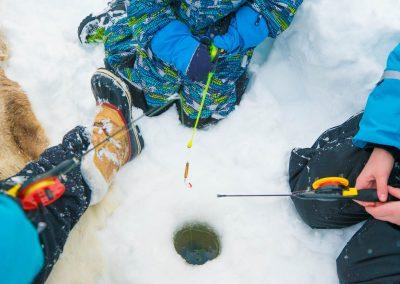 Harriniva Hotels Safaris Ice Fishing
