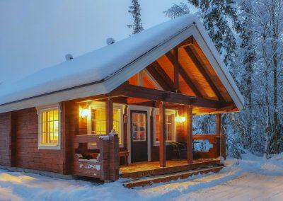 Harriniva Riverside cabin