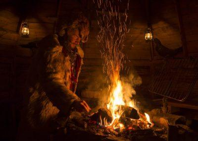 Lapland Shaman Keimiön koukkaus by Klaus Peter Kappest