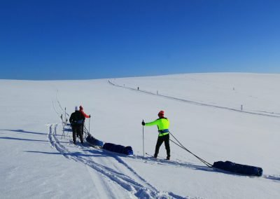Ski tours by Fell Trek DiscoverMuonio Activities Cross Country Skiing Photo by Fell Trek Hannu Rauhala