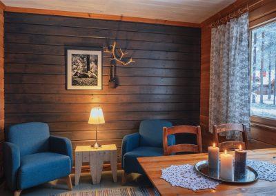 Torassieppi cabin with fireplace