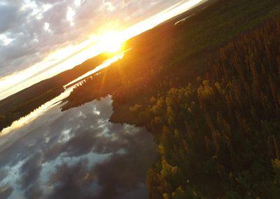 Utkujärven majat by Lake