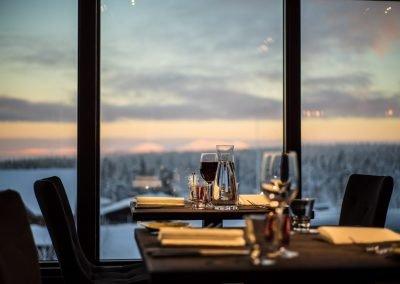lapland hotel olos takka restaurant