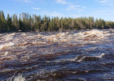ijäkoski rapids nature attraction by NV Discover Muonio