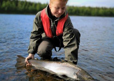 Beauty of the river Muonionjoki Elämysvirta Rauno Virta Discover Muonio