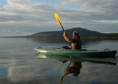 Activity Keimiolahen Maja Jerisjarvi paddling Discover Muonio
