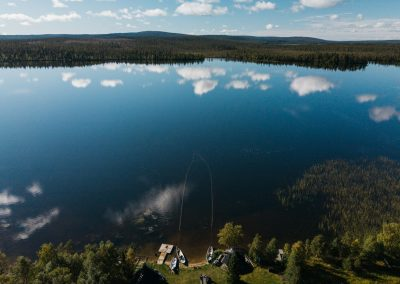 JerisjarviLake drone DiscoverMuonio photoby Marienlla Himari