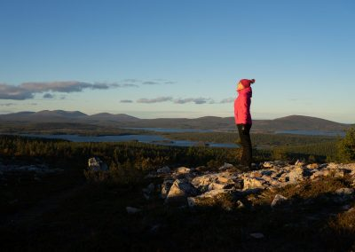 Purest air in the world autumn Sarkitunturi DiscoverMuonio by Oscar Manguy