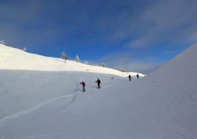 Fell Trek skiing tour