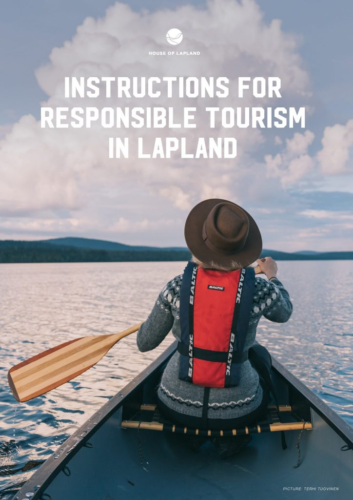 Instructions sustainable tourism in Lapland cover image