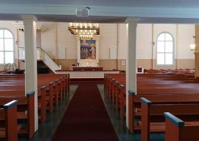 Muonion Kirkko sisalta
