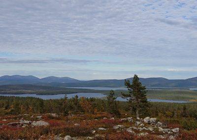 Särkitunturilta järville DiscoverMuonio Landscape