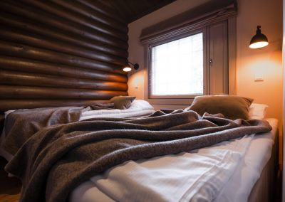 laplandhotels olos holiday apartment in log building