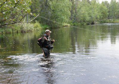 Fisherman Jerisjoki photo by Kalle Talvinen