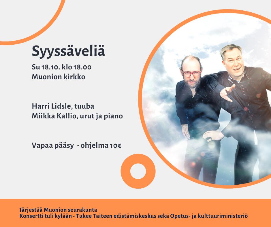 Syyssavelia Muonio FB