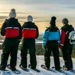 Snowshoeing WildmakerLapland DiscoverMuonio