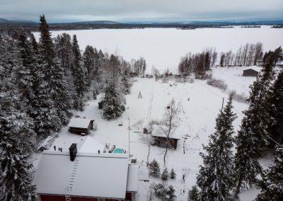 Accommodation villa rauha lake jeris discover muonio by VillaRauha