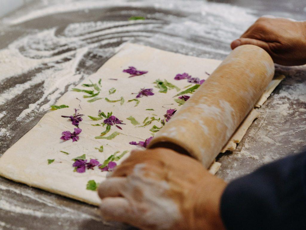 Wild herbs used in baking food DiscoverMuonio photobySanni Vierela