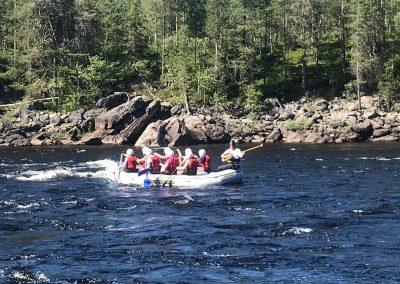 Activity River Rafting ArcticFlow DiscoverMuonio